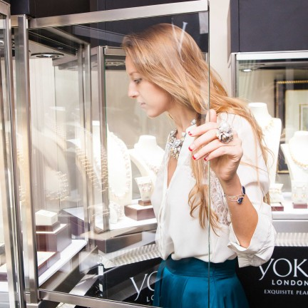 THE JEWELRY ART OF YOKO LONDON