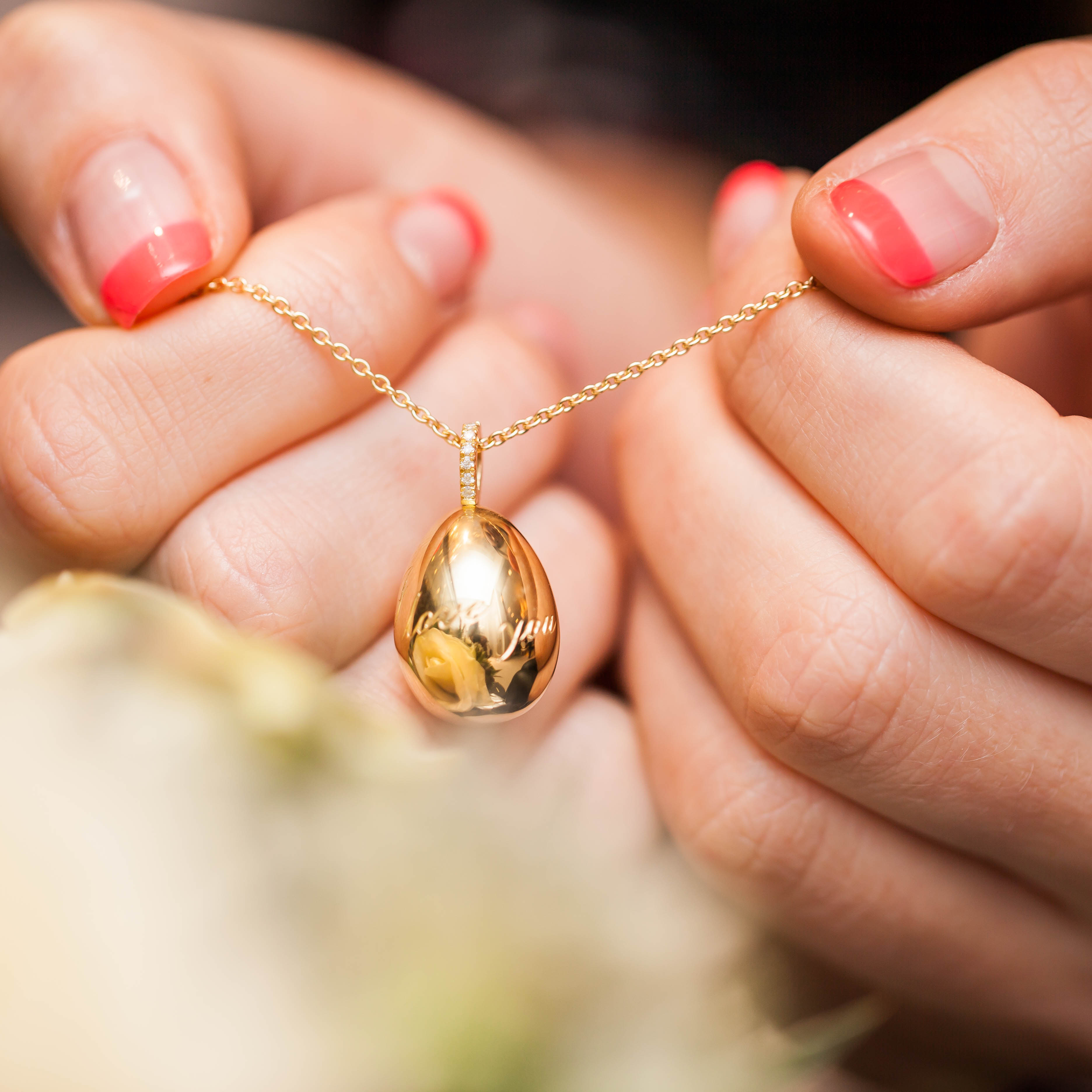 FABERGE GOLD EGG PENDANT REVIEW