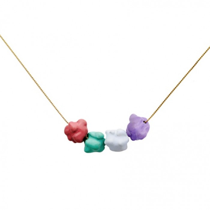 GLENDA LOPEZ The Fancy Popcorn Pendant
