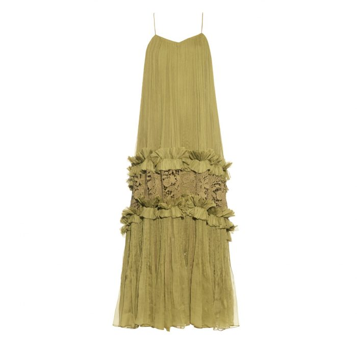 MARIA LUCIA HOHAN guipure-lace gown