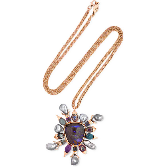 DANIELA VILLEGAS Asteria 18K Rose Gold necklace