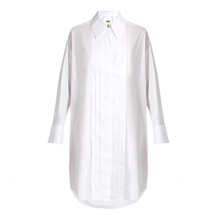 MM6 BY MAISON MARGIELA Tuxedo shirtdress