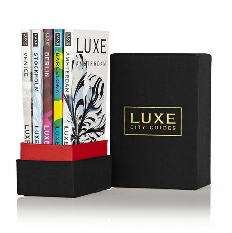 LUXE CITY GUIDES Europe Gift Box