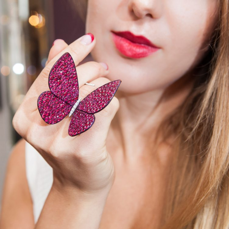 GLENN SPIRO PAPILLON RING REVIEW