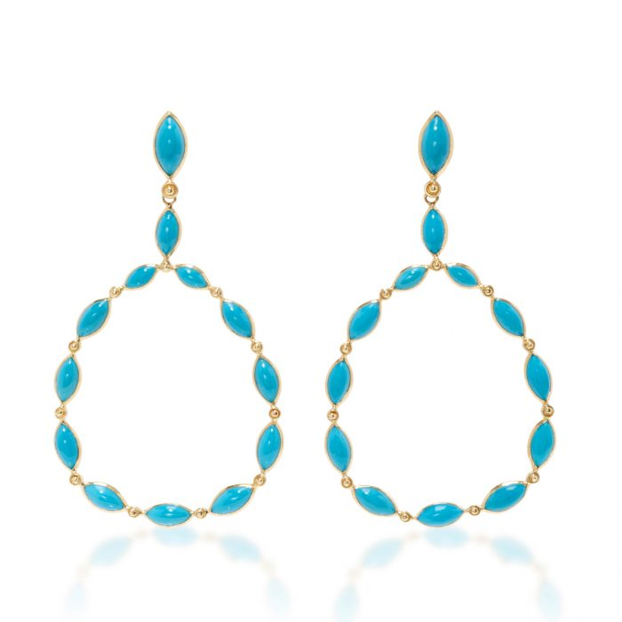 Carla Amorim Turquoise Earrings
