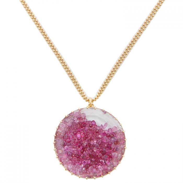 Renee Lewis Ruby Shake Necklace