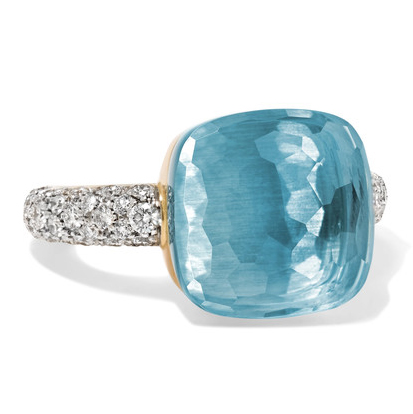 Pomellato Gold Topaz Ring