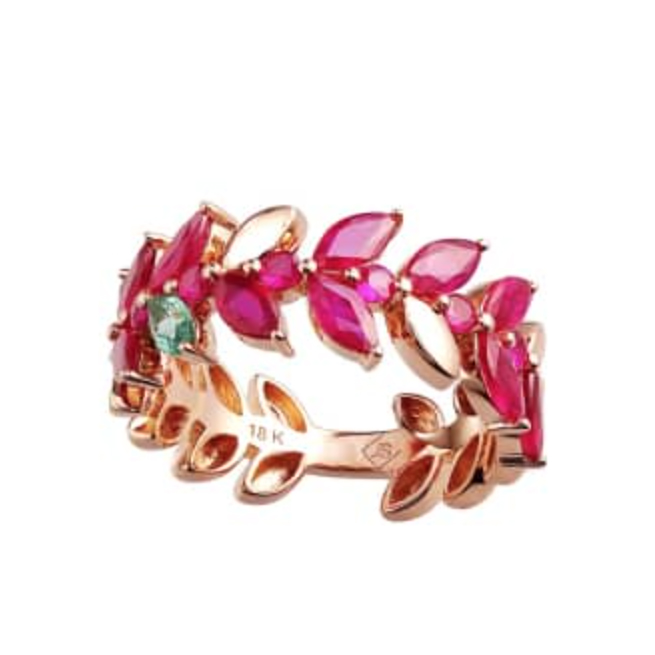 Joana Salazar Ruby Ring