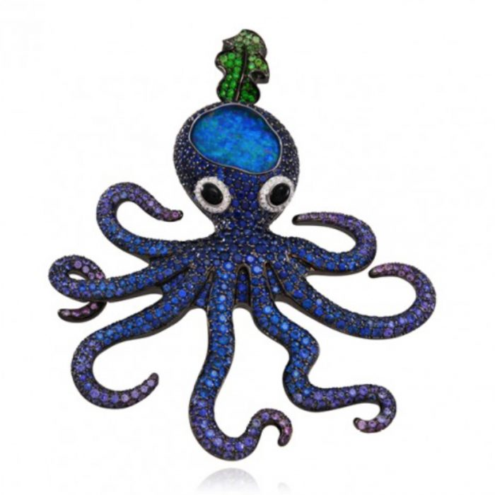 Lydia Courteille Deep Sea Pendant