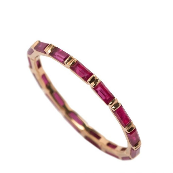 Joana Salazar Eternity Ruby Ring