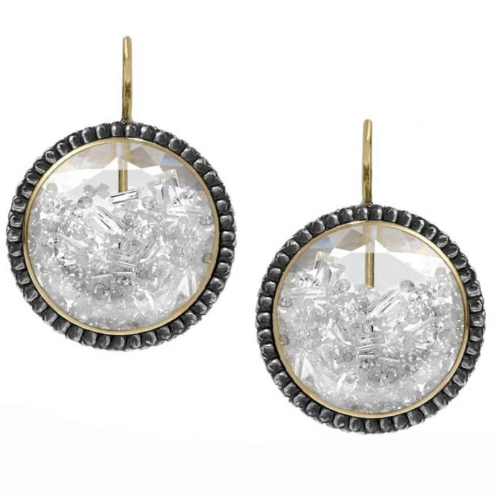 Moritz Glik Circle of Life Diamond Earrings