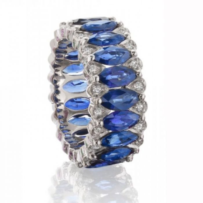 Niquesa Fine Jewellery Sapphire Eternity Band