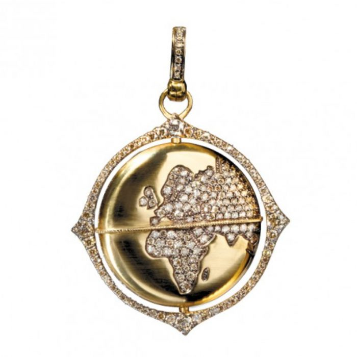 Annoushka Mythology Globe Amulet