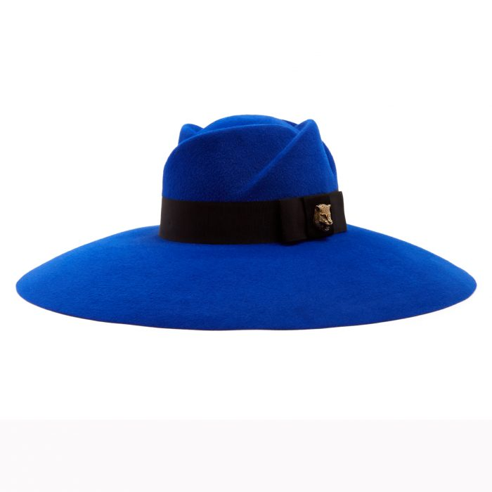 GUCCI Fur-felt wide-brim trilby hat