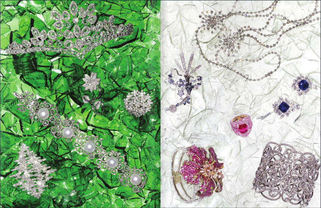 FINE JEWELLERY EDITORIAL WITH FABERGE, VAN CLEEF & ARPELS, GRIMA, CHATILA, PIAGET