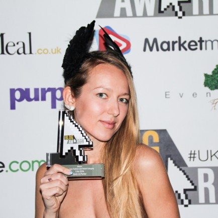 Gem-A-Porter, Gemologue by Lizard Urla, won the best Fashion Blog 2015 in the UK Blog Awards