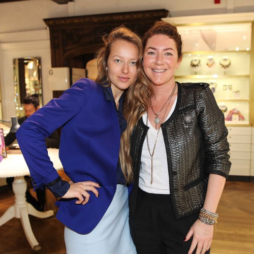 ANNINA VOGEL, JEWELRY DESIGNER OF THE MONTH LIBERTY LONDON