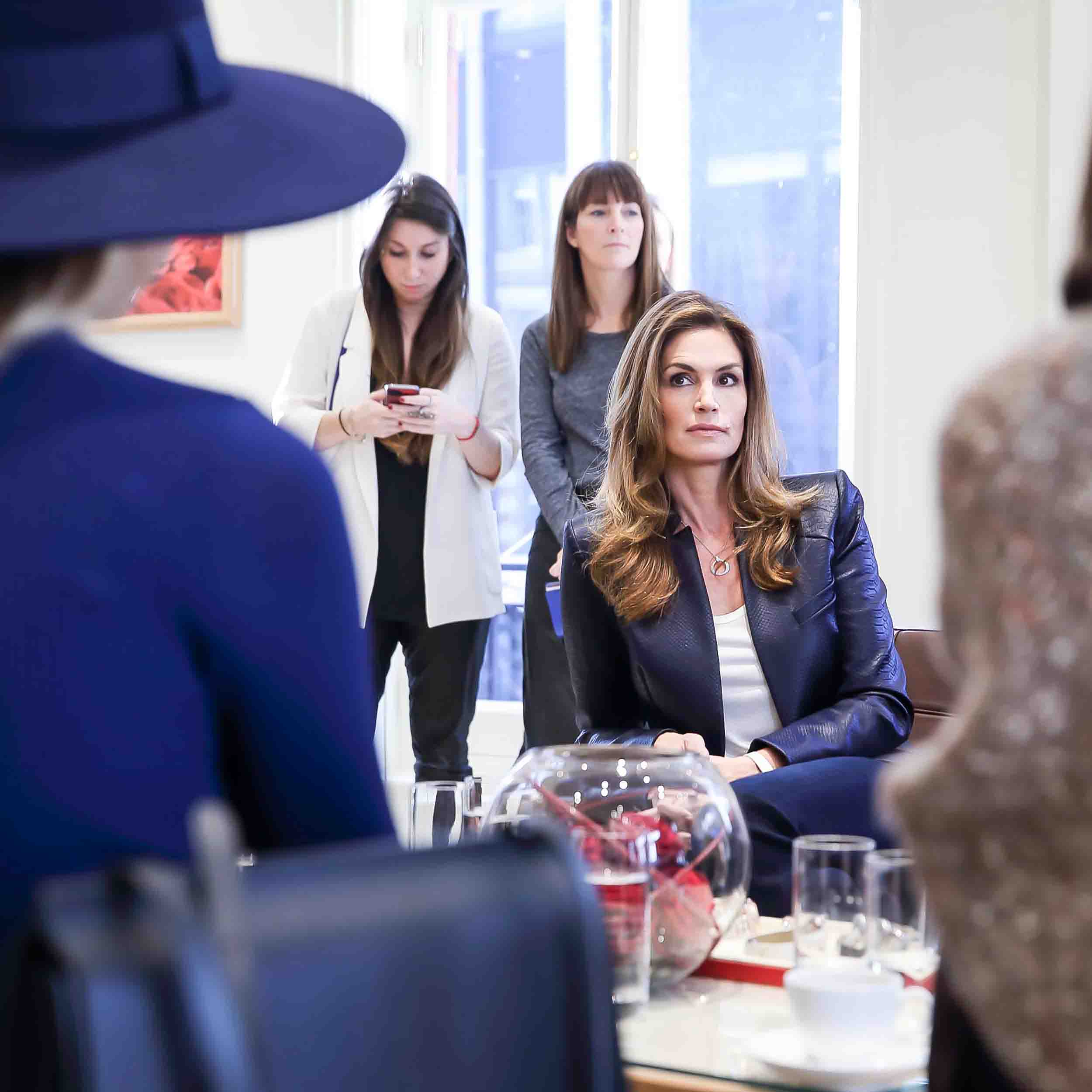 GEM TALK WITH CINDY CRAWFORD, SUPERMODEL & OMEGA BRAND AMBASSADOR