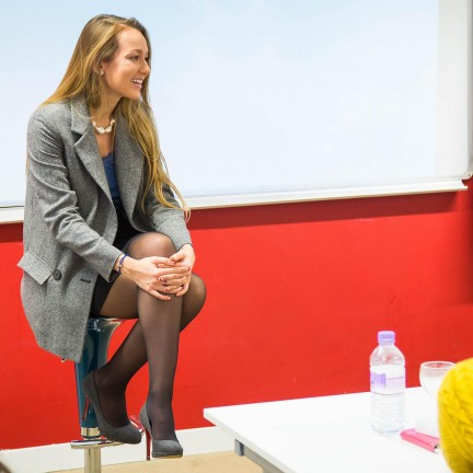 AN EVENING WITH LIZA URLA AT HOLTS ACADEMY