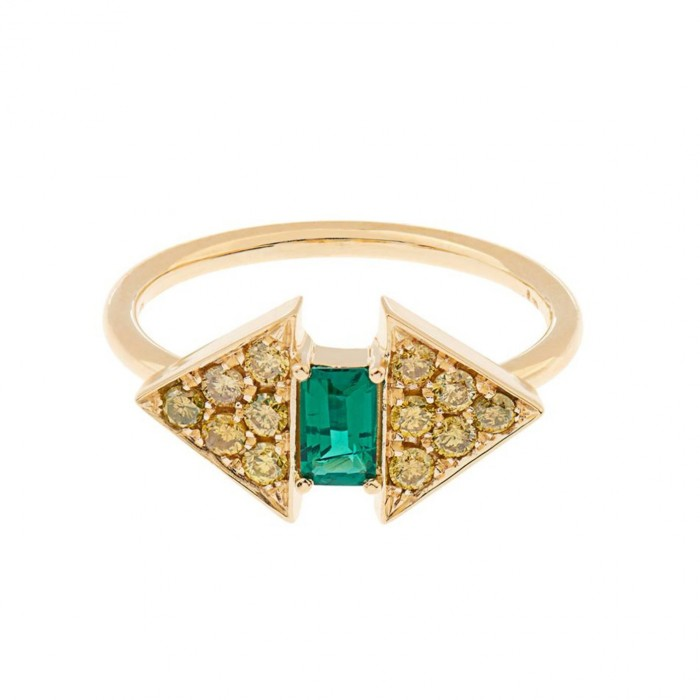 Nikos Koulis Emerald Ring £990
