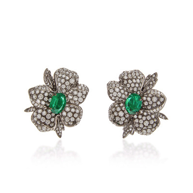 Giovane Emerald Earrings $61,710