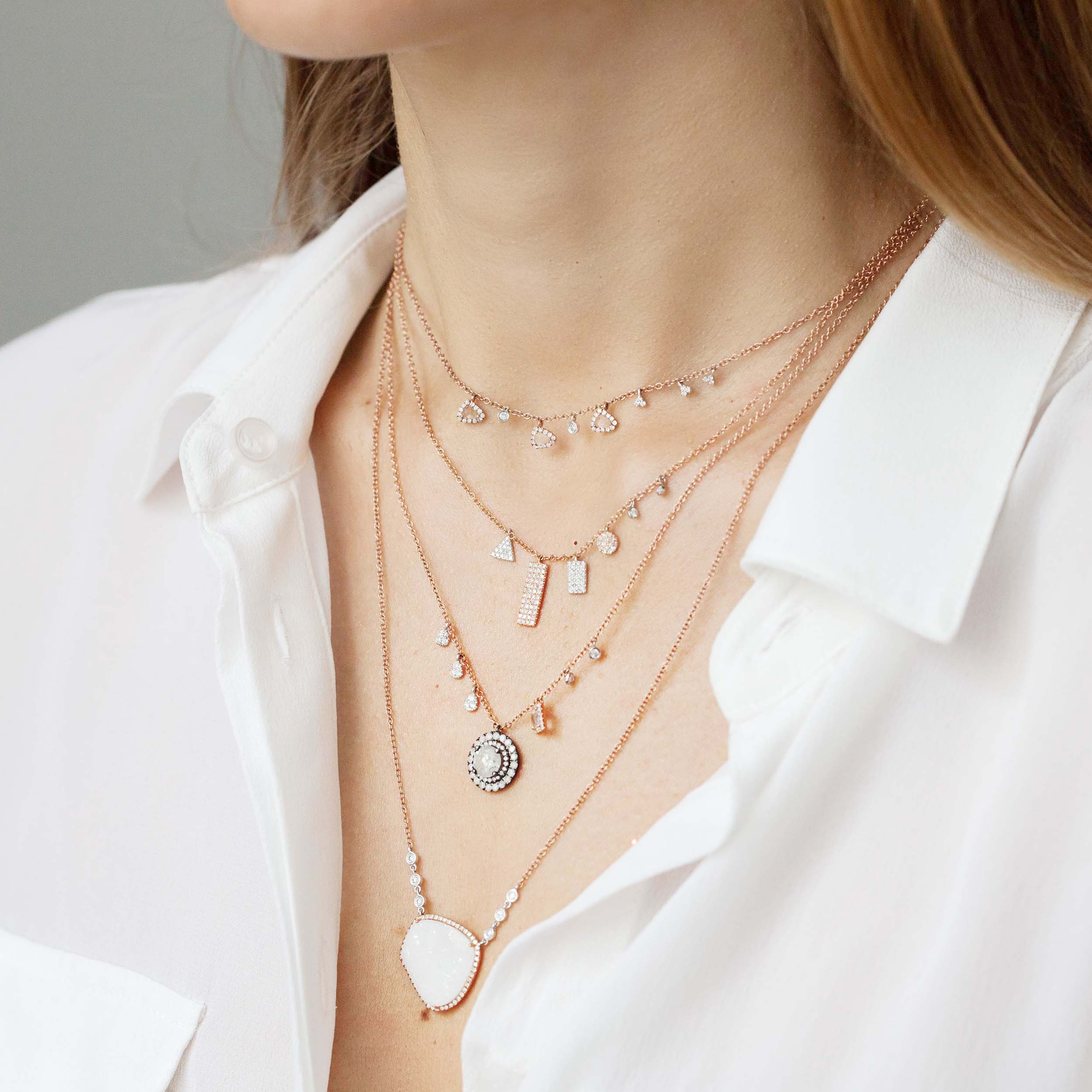 THE ART OF NECKLACE LAYERING