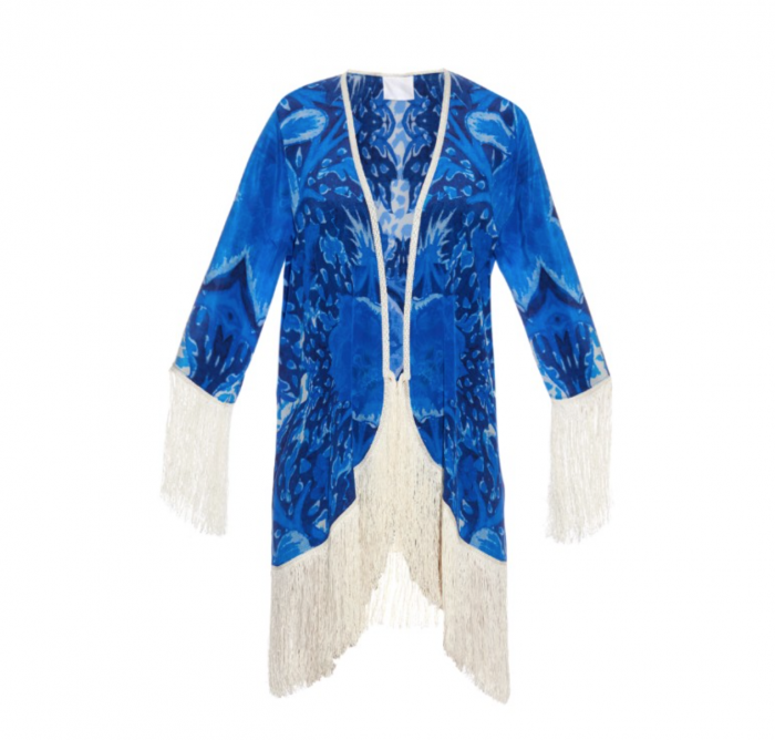 ATHENA PROCOPIOU silk cover-up £475