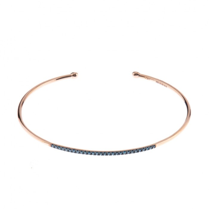 DIANE KORDAS Blue bangle £1,060