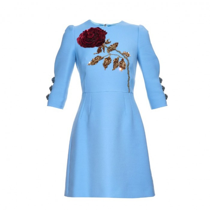 DOLCE & GABBANA mini dress £4,450