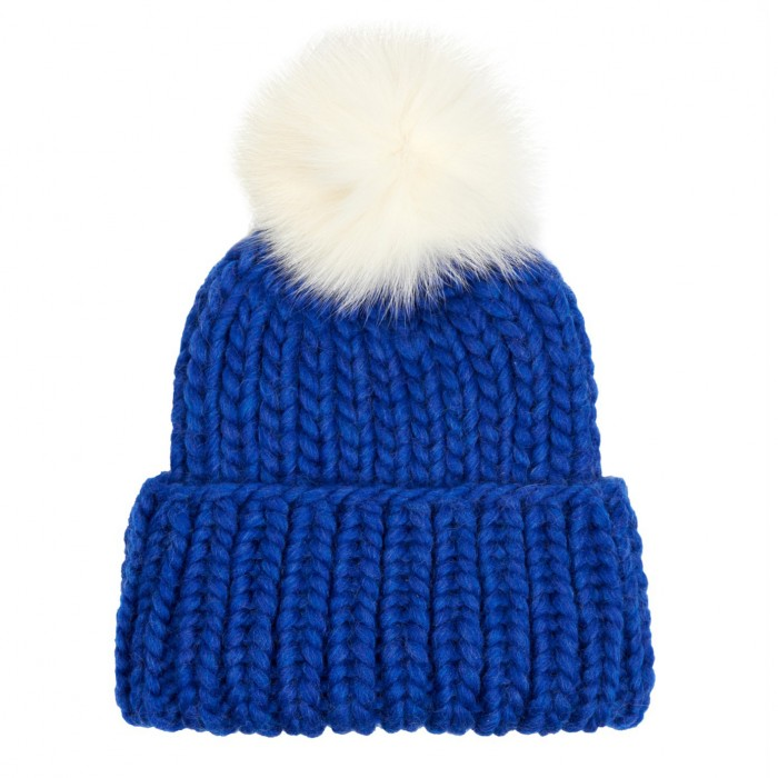 EUGENIA KIM fur pompom hat £195