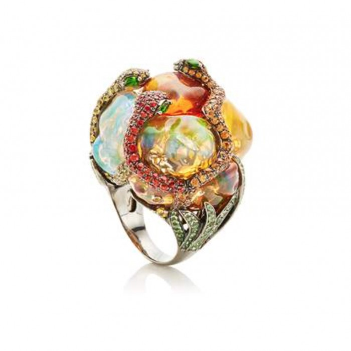 LYDIA COURTEILLE One Of A Kind Ring $52,175