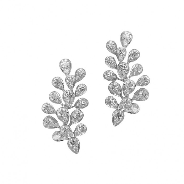 Plukka diamond earrings $11,500