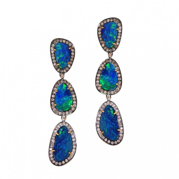 Plukka opal earrings $2,050
