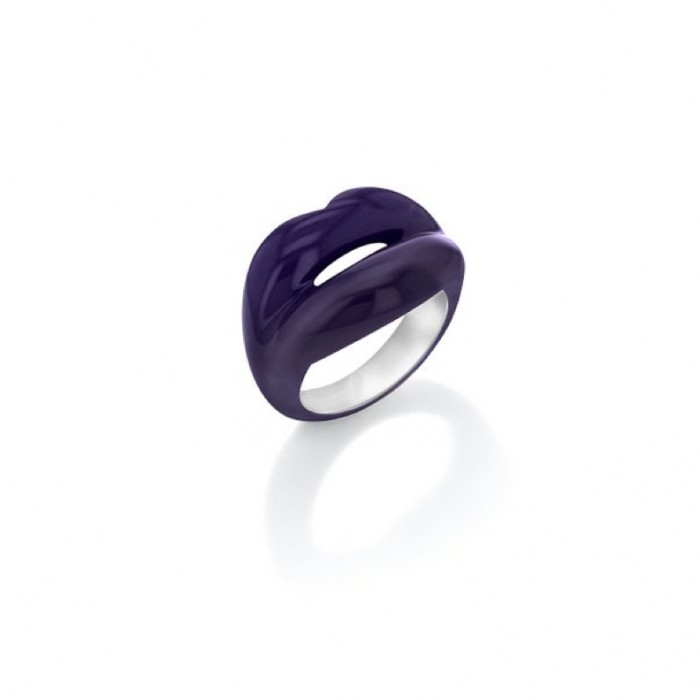 Solange Hotlips Purple Ring £69