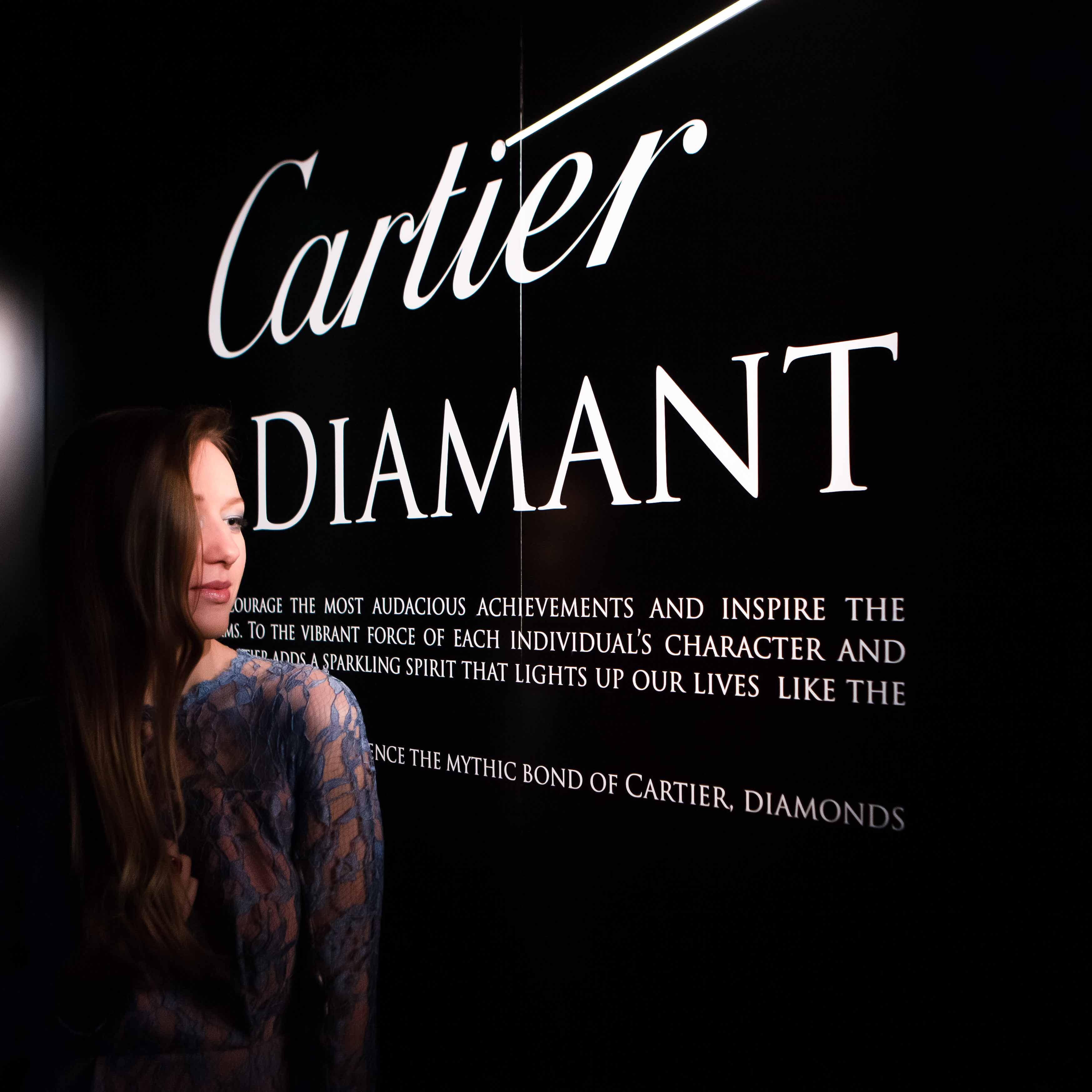 "CARTIER ""LE DIAMANT"" EXHIBITION"