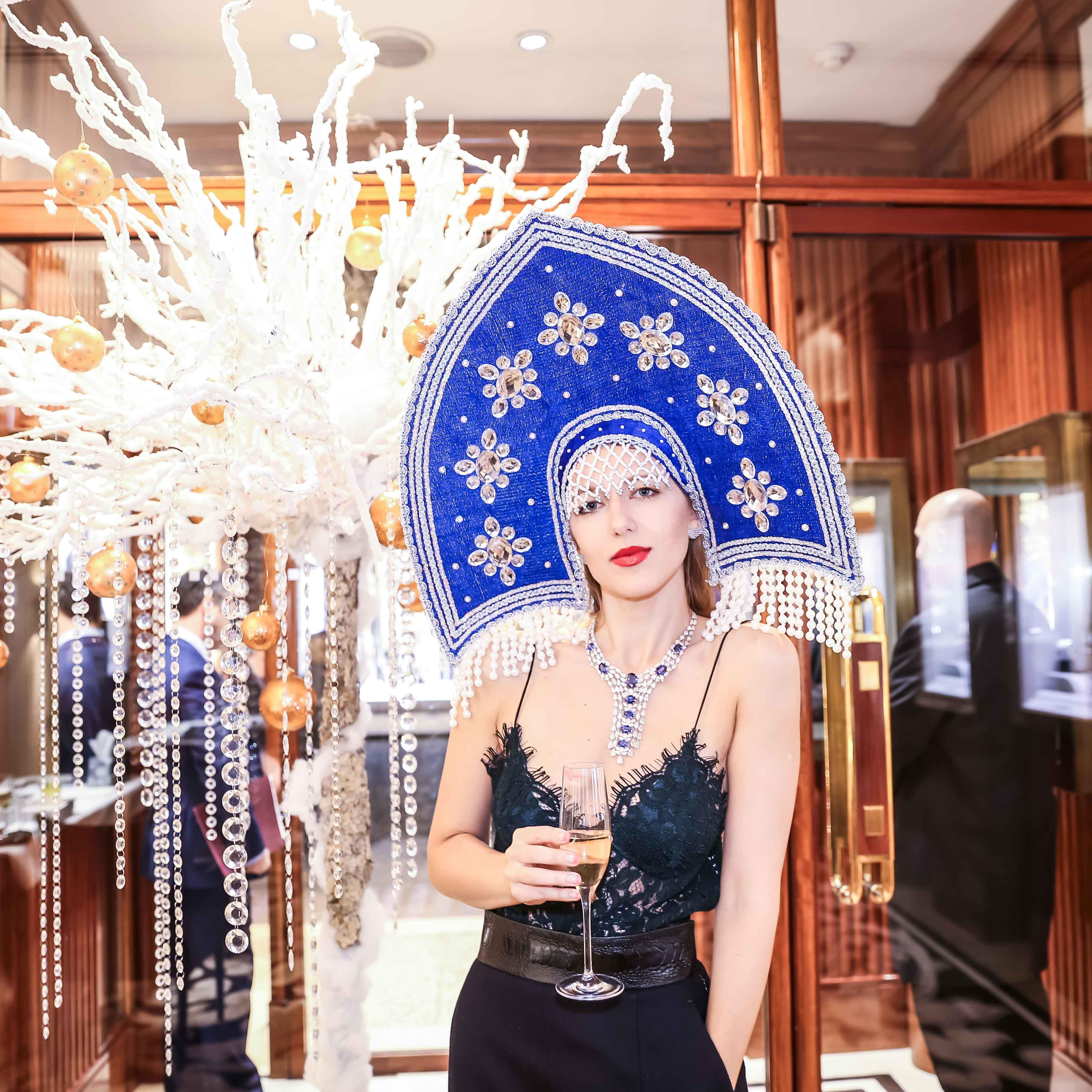 CHATILA CAVIAR AND CHAMPAGNE CHRISTMAS PARTY, OLD BOND STREET LONDON