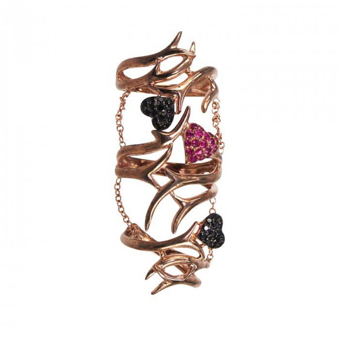 MSY by Wendy Yue HEARTS&THORNS Ring $640