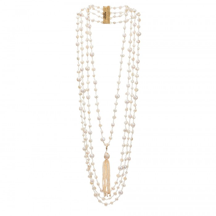 ROSANTICA pearl necklace £238