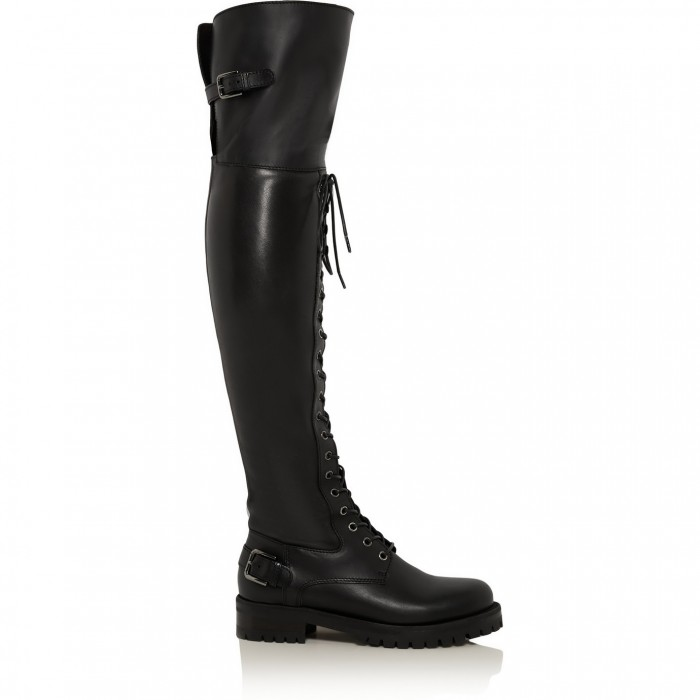 DOLCE & GABBANA Leather over-the-knee boots £925