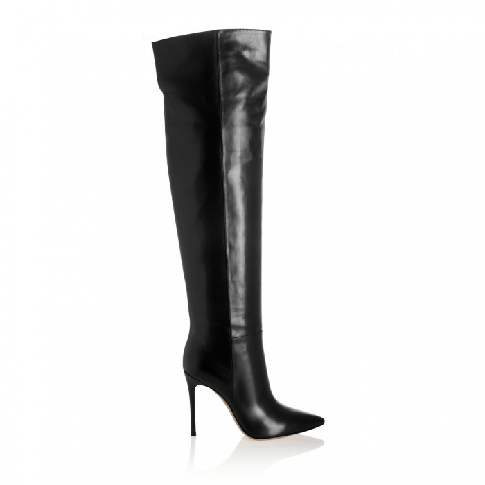GIANVITO ROSSI Leather knee boots £452
