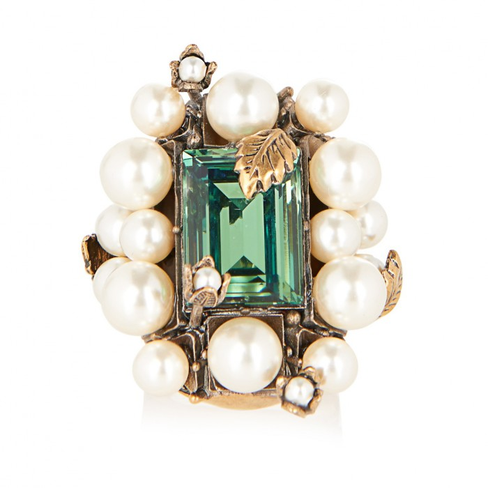 GUCCI pearl ring £535