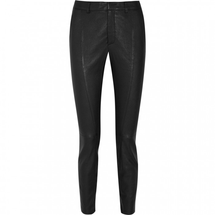 HELMUT LANG Leather skinny pants £315
