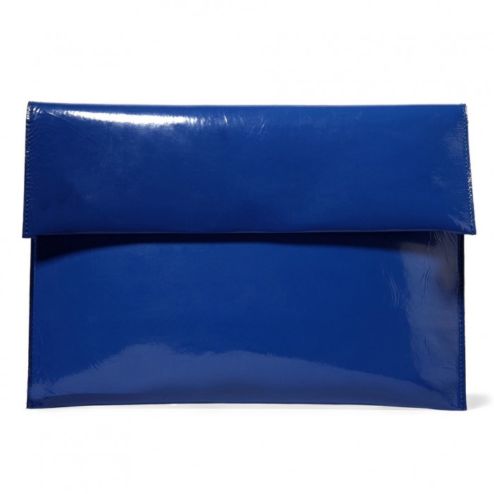 MARNI Patent-leather clutch £160