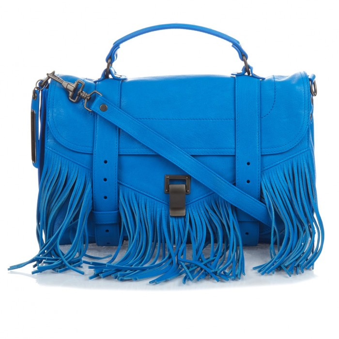 PROENZA SCHOULER fringe leather bag £1,335