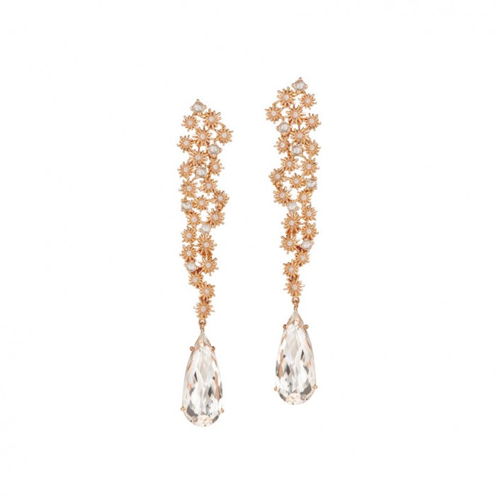 CHRISTINA DEBS Diamond Earrings