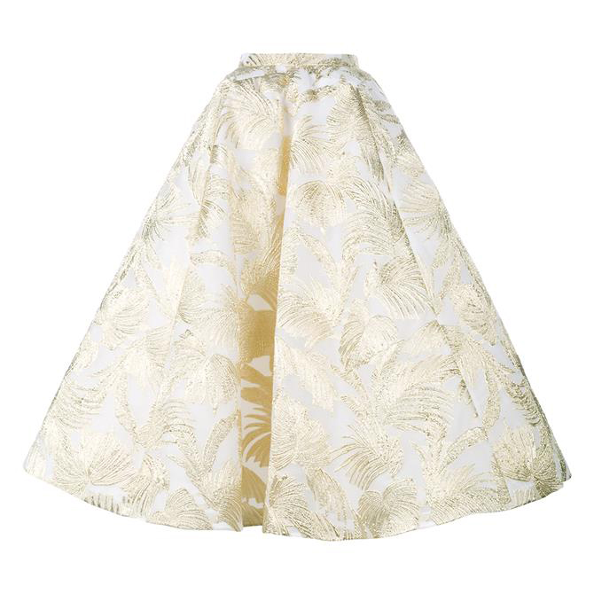 DELPOZO Full Skirt