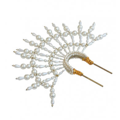 EMILY LONDON White Headpiece