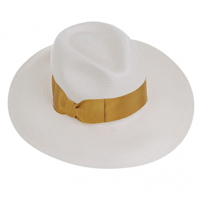 EMILY LONDON White Resort Hat