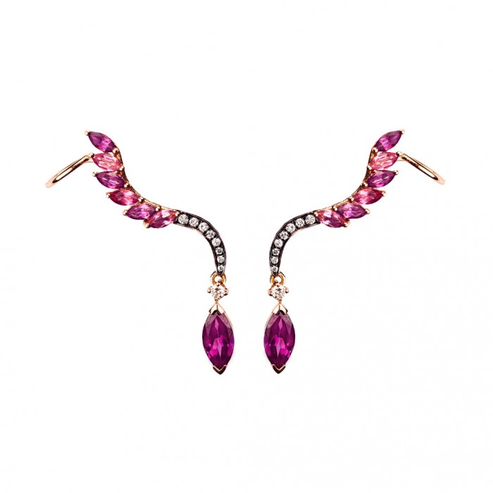 LEYLA ABDOLLAHI Tourmaline Earrings