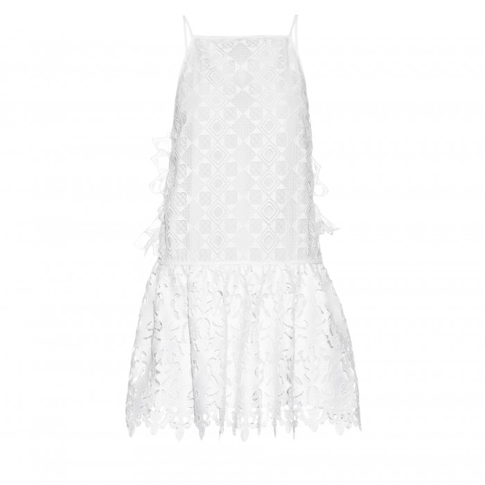 NO. 21 Macrame-lace Dress